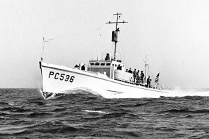 PC 536 ca. 1942, later renamed SC 536. Source: Historical Collections of the Great Lakes