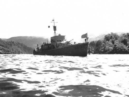 SC 648 - My ship. Hollandia, New Guinea, 1944