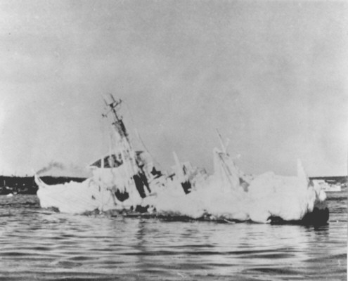 The sorry fate of SC 709 off Louisbourg Nova Scotia January 1943